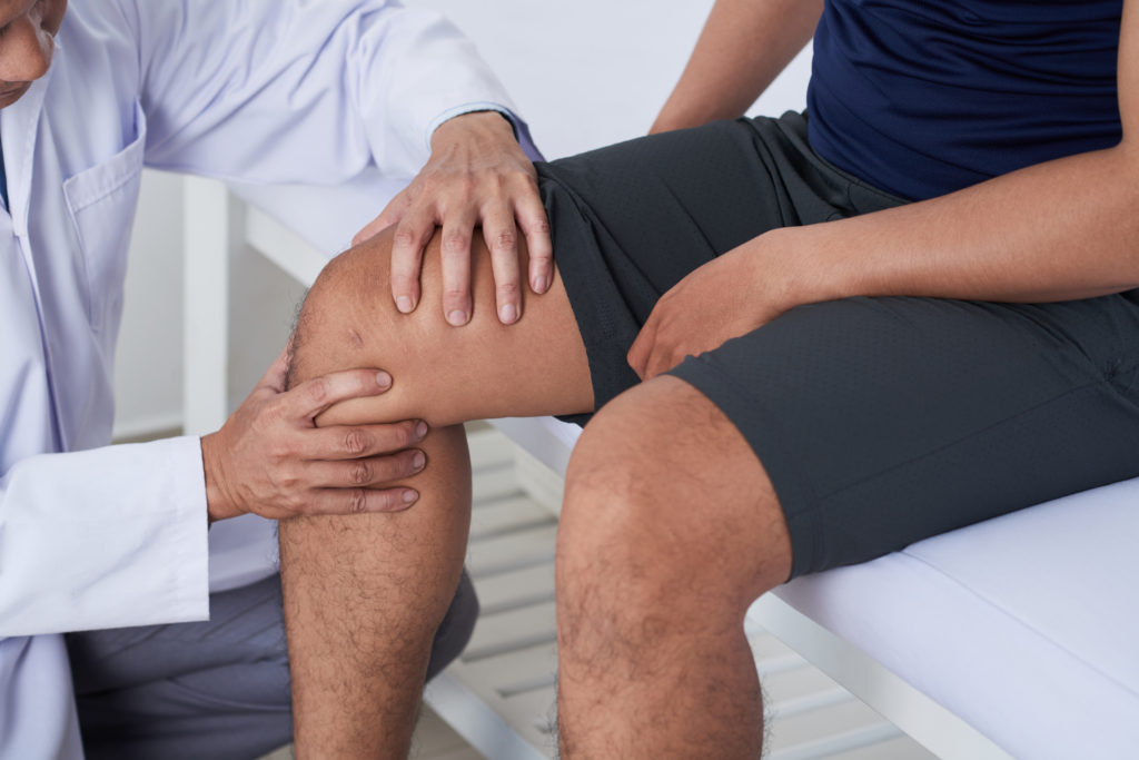 acute pain - such as a sports injury